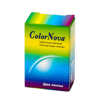 Линзы ColorNova Disco 2 шт.
