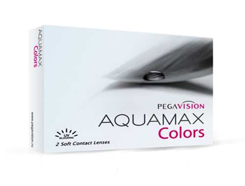 Линзы Aquamax Colors 2 шт.