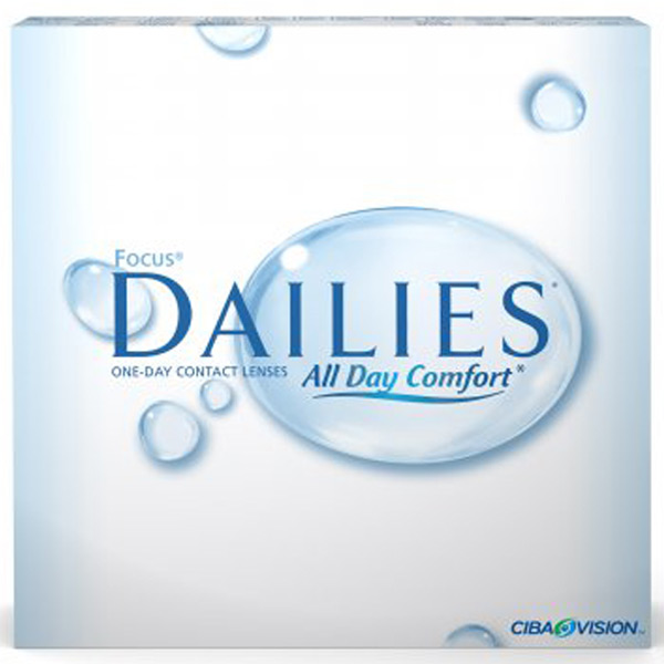 Линзы Focus Dailies All Day Comfort 90 шт.