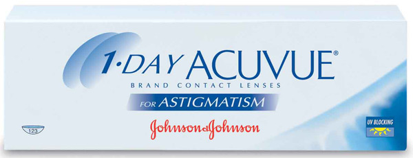 Линзы 1-Day Acuvue for Astigmatism 30 шт.