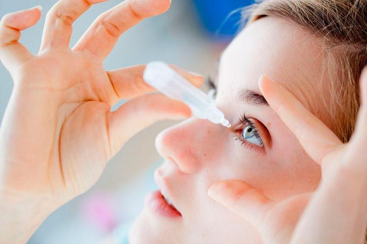Препарат для лечения инфекции глаза