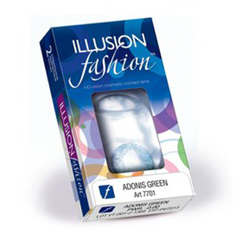 Линзы Contact Illusion Fashion Adonis 2 шт.