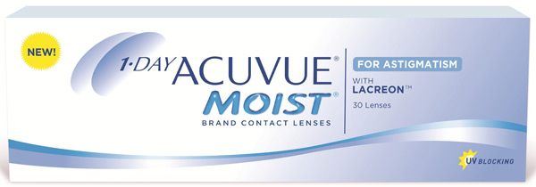 Линзы 1-Day Acuvue Moist for Astigmatism 30 шт.