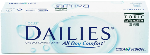 Линзы Focus Dailies All Day Comfort TORIC 30 шт.