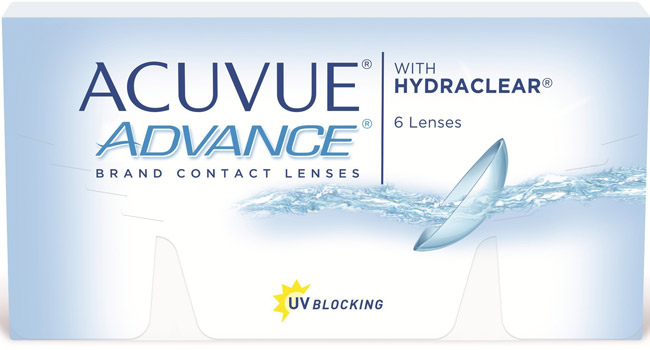 Линзы Acuvue Advance 6 шт.