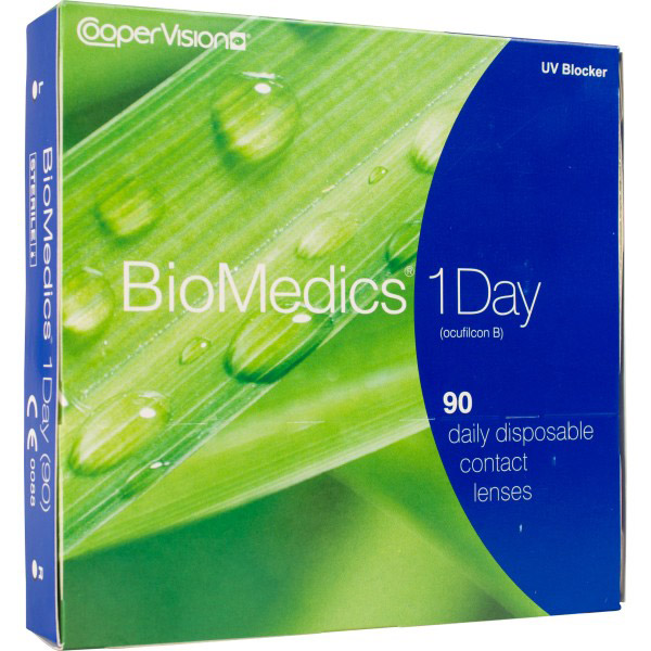 Линзы Biomedics One Day (SoftView One Day) 90 шт