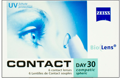 Линзы Contact Day 30 Compatic Spheric 6 шт.