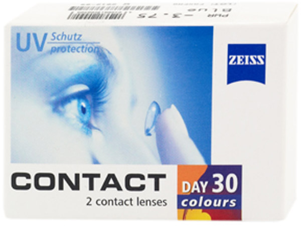 Линзы Contact day 30 colors Natural 2 шт.