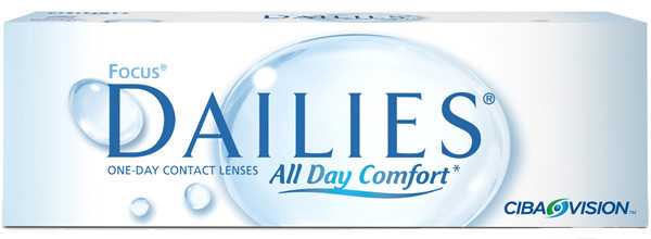 Линзы Focus Dailies All Day Comfort 30 шт.