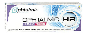 Линзы Ophtalmic HR 1 Day Toric 30 шт.