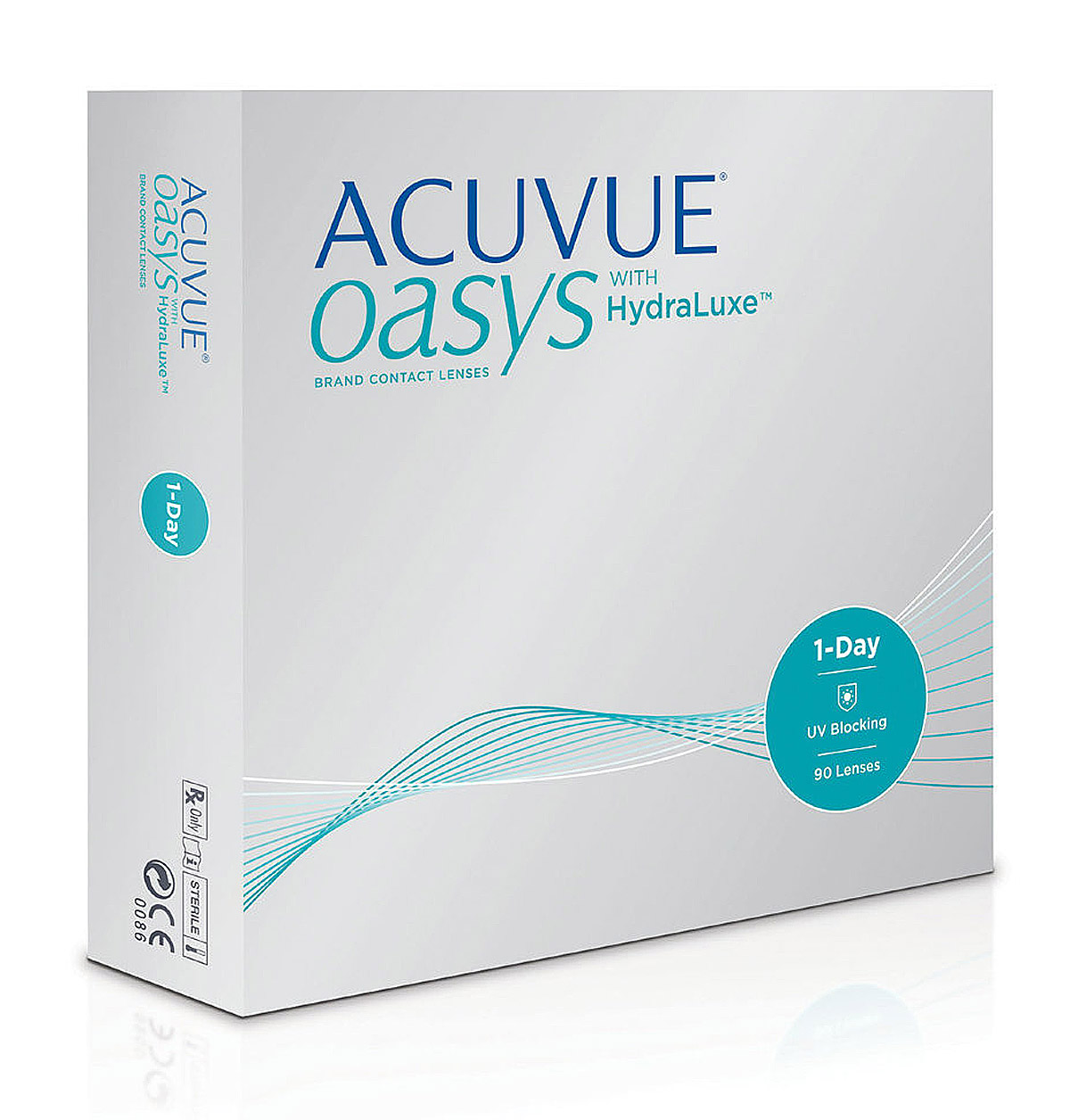 Линзы Acuvue Oasys 1-Day with HydraLuxe™ 90 шт.