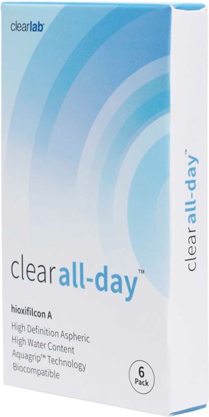 Линзы Clear All Day 6 шт.